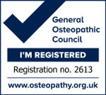 General Osteopathic Council Registration Logo